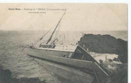 "Boot - Boat - Bateaux - Ship - Shiff - Saint-Malo - Naufrage Du "" Hilda ""  ( 19 Novembre 1905 ) - Saint Malo"