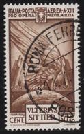Italy .  Yvert    .       Airmail   85      .       O        .      Cancelled   .   /    .   Oblitéré - 1900-44 Vittorio Emanuele III