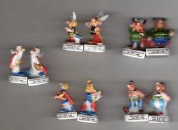 Série Complète 10 Fèves Brillantes En Duo - 50 ANS D'ASTERIX Arguydal 2009-2010 - Comics