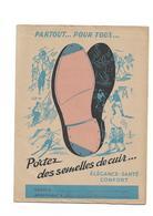 Protège-cahier Portez Des Semelles De Cuir - Chaussures