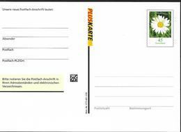 2005 Deutschland Allem. Fed. Germany   Ganzsache   Neue  Postfach-Anschrift - BRD
