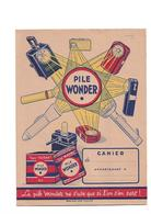 Protège-cahier  Piles Wonder - Batterie