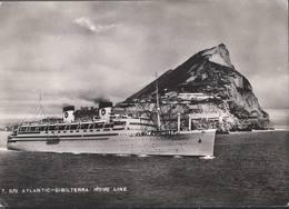 Atlantic - Gibilterra Home Line - H4889 - Paquebots