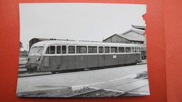 Autorail De Dion, OC 2 X157, Ex CdN, à Loudéac. 26.6.1963 - Loudéac