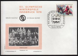 Austria Innsbruck Eisstadion 1976 / Olympic Games Innsbruck / Winners / Ice Hockey - Eishockey / Cancel No 10 - Hiver 1964: Innsbruck
