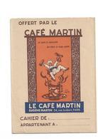 Protège-cahier   Cagfé Martin - Coffee & Tea