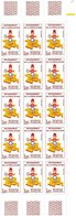 15 TIMBRES RECENSEMENT Dont 2 Sans Le CHIFFRE 7 Dans La CORSE - Variétés Et Curiosités