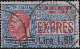 Italy .  Yvert    .       Expres  16     .       O        .      Cancelled   .   /    .   Oblitéré - Poste Exprèsse