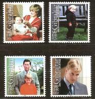 Gibraltar 2000 Yvertn° 935-938 *** MNH  Cote 10,00 Euro Prince William - Gibraltar