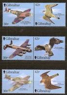 Gibraltar 2000 Yvertn° 939-944 *** MNH  Cote 10,50 Euro Faune Oiseaux Et Avions Vogels Birds - Gibraltar
