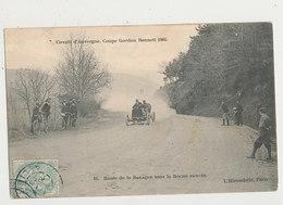 63 CIRCUIT D AUVERGNE COUPE GORDON BENNET 1905 ROUTE DE LA BARAQUE SOUS LA ROCHE PERCEE CPA BON ETAT - Voitures De Tourisme