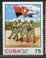 CUBA 2000. Sending Cuban Troops To Help Resp. Angola Mi 4321 MNH - Angola