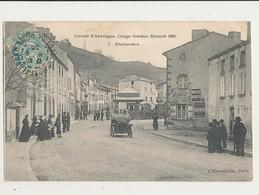 63 CIRCUIT D AUVERGNE COUPE GORDON BENNET 1905 PONTAUMUR CPA BON ETAT - Voitures De Tourisme