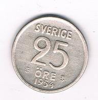 25 ORE  1954  ZWEDEN /8189/ - Suède