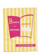 Protège-cahier  Farine   Jacquemaire - Buvards, Protège-cahiers Illustrés