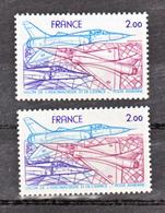 France PA  54 B Salon Du Bourget  Gomme Tropicale  Et Normal Neuf **  TB - Varietà: 1970-79 Nuovi