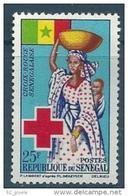"""Senegal YT 234 """" Croix-Rouge """" 1963 Neuf** - Sénégal (1960-...)"""