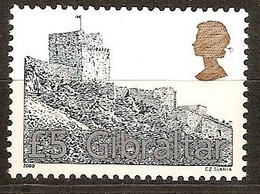 Gibraltar 2000 Yvertn° 945*** MNH  Cote 25,00 Euro Chateau Kasteel Castle - Gibraltar
