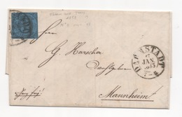 THURN Und TAXIS N° 8  1852 - Tour Et Taxis