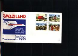 Swaziland 1980 London 1980 Philatelic Exibition FDC - Swaziland (1968-...)