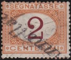 Italy .  Yvert    .       Taxe  4     .       O        .      Cancelled   .   /    .   Oblitéré - 1900-44 Vittorio Emanuele III