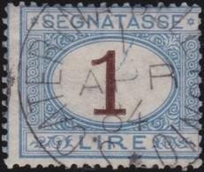 Italy .  Yvert    .       Taxe  12     .       O        .      Cancelled   .   /    .   Oblitéré - 1900-44 Vittorio Emanuele III