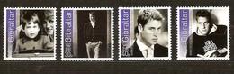 Gibraltar 2003 Yvertn° 1046-1049 *** MNH  Cote 10,00 Euro Prince William - Gibraltar