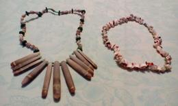 2 Colliers En Coquillages - Ethnics