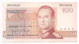LËTZEBUERG 100 HONNERT FRANC 14 AOUT 1980 - Luxembourg