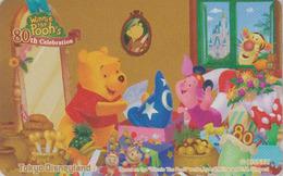 Télécarte NEUVE Japon / MF-1002796 - DISNEY Disneyland - WINNIE POOH 80th Celebration - Japan MINT Phonecard - Disney