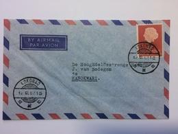 NETHERLANDS NEW GUINEA 1957 Air Mail Cover Kokonao To Manokwari - Netherlands New Guinea