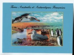 VP2L9 TAAF FSAT Antarctique Antarctic Neufs ** MNH  Bloc Faune Oiseaux 2006 - Blocs-feuillets
