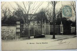 RUE DU RÉVEILLON - BRUNOY - Brunoy