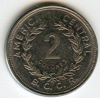 Costa Rica 2 Colones 1982 KM 211.1 - Costa Rica