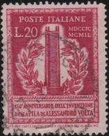 Italy .  Yvert    .       549      .       O        .      Cancelled   .   /    .   Oblitéré - 6. 1946-.. Repubblica