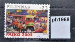Ph1968 Weihnachten 2003, Christmas, Caroling, Jeepney, Kleinbus, Bus, PH 2002 - Philippinen