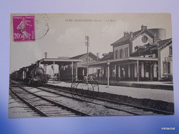 FERE CHAMPENOISE-La Gare-Train - Fère-Champenoise