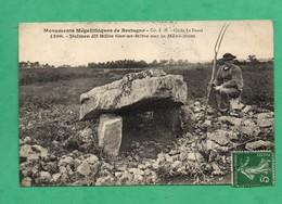 29 Finistere Dolmen Dit Billic Gor Ar Rible Sur Le Menez Hom - Dolmen & Menhirs