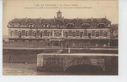 GUERRE 1914-18 - LE TREPORT - Le Grand Chalet , Transformé En Dépôt D'éclopés - Guerre 1914-18
