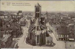 GAND-GENT - Eglise St-Nicolas Et Panorama - Thill, Série 3, N° 27 - Gent