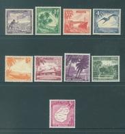 NAURU - MVLH/*. - 1954 - Yv 37-45 -  Lot 18412 - VERY LIGHT HINGED SOME ARE NEARLY MNH/** - Nauru