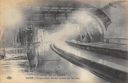 40 CP(SNCF Bellegarde-Quiers+Gare St Michel Inondée)+rare Carte-photo+Milit+Rues Animées+Folk+Divers Autres Sujets N°83 - Cartes Postales