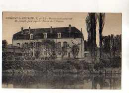 28 NOGENT LE ROTROU Pensionnat Externat St Joseph  Face Ouest Bord De L'Huisne - Nogent Le Rotrou