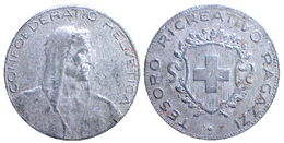 00726 GETTONE TOKEN JETON FICHA PLAY TOKEN TESORO RICREATIVO RAGAZZI CONFEDERATIO HELVETICA - Italie