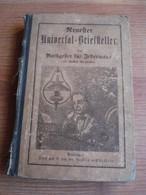 Universal Briefsteller écriture Reich Alsace école - Livres Scolaires