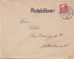 Denmark.  Letter With Cancellation RUTEBILBREV - 1913-47 (Christian X)