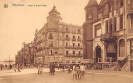 Belgique - Wenduine - Digue Et Grand Hôtel - Wenduine
