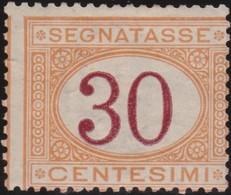 Italy .  Yvert    .    Taxe  8     .   *   .   Mint-hinged  .   /    .   Neuf Avec Charniere * - 1900-44 Vittorio Emanuele III
