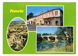 VEAUCHE  42  Multivues Avec 3 Photos En 1984 - Frankrijk