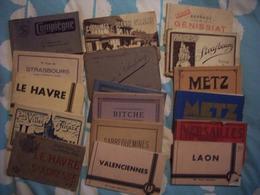 Lot De Cartes En Carnet - Cartes Postales